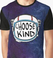 Choose Kind - Wonder Space Helmet Graphic T-Shirt