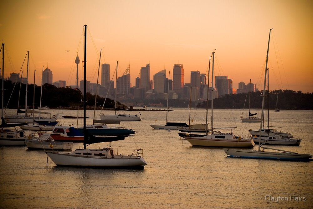 Sydney from Watsons Bay by Clayton Hairs