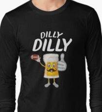 Dilly Dilly Funny Football & Beer  T-Shirt