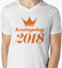 Koningsdag Crown 2018 - King's Day Netherlands Celebration Nederland T-Shirt