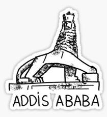 Addis Abeba Äthiopien Sticker