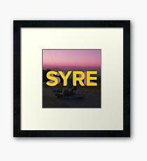 SYRE Framed Print