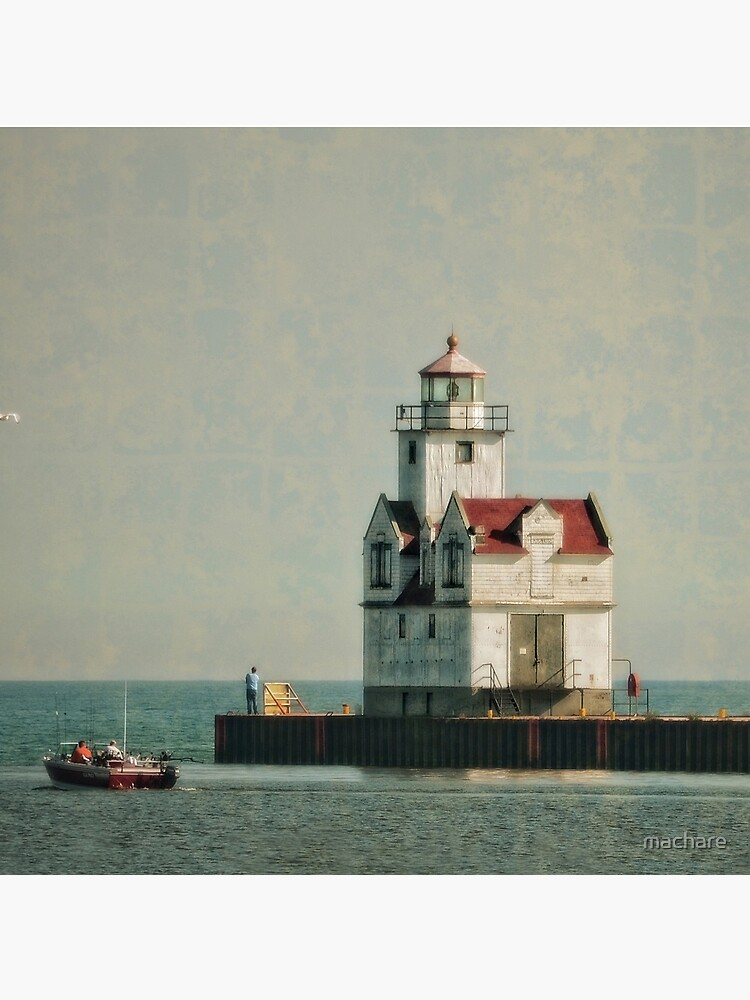 Lighthouse - Manitowoc, WI by machare