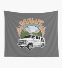 Van Life in Yosemite Wall Tapestry