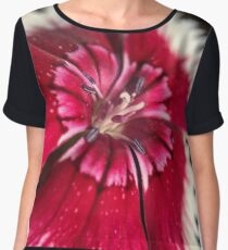 Flower Power Collection Women's Chiffon Top