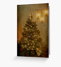 The Christmas Tree Greeting Card