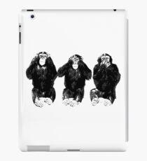 Three Apes iPad Case/Skin