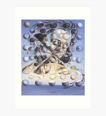 Galatea of the Spheres-Salvador Dalí Art Print