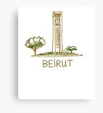 Beirut Lebanon Canvas Print