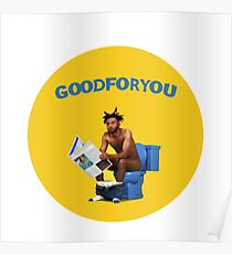 Amine - Good For You Poster