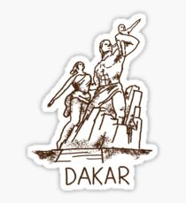 Dakar Senegal Sticker