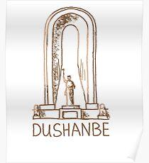 Dushanbe Tajikistan Poster