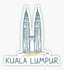 Kuala Lumpur Malaysia Sticker