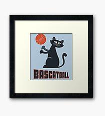 BasCATball Framed Print
