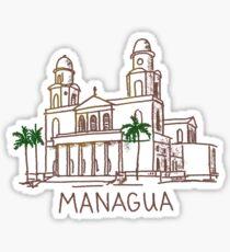 Managua Nicaragua Sticker