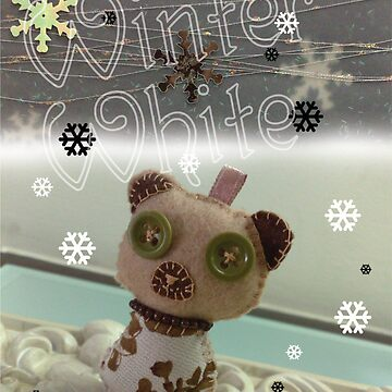 Winter White Bear by lilypoh
