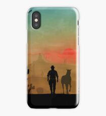 Warriors Landscapes - Red Dead Redemption iPhone Case/Skin