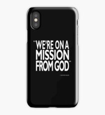 A Mission From God iPhone Case/Skin