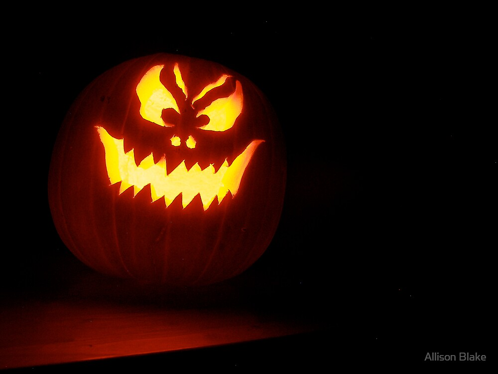 Pumpkin Face by Allison Blake