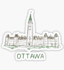 Ottawa Canada Sticker