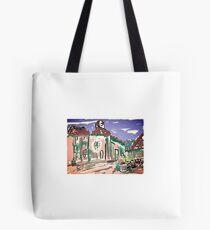 Villiage street Tote Bag