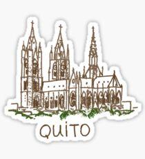 Quito Ecuador Sticker