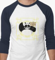 I'm just an ordinary panda! Men's Baseball ¾ T-Shirt