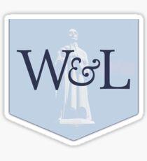 washington and lee university Sticker