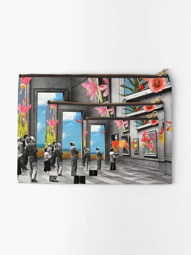 Alternate view of Natural History Museum Zipper Pouch