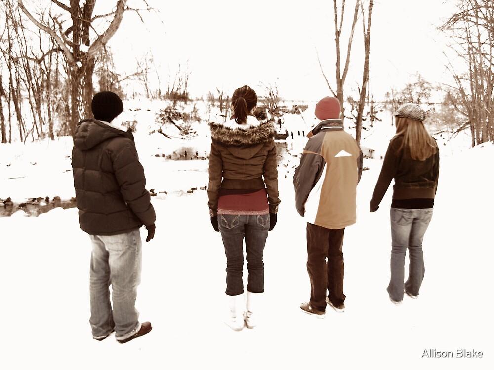 Snow Children by Allison Blake