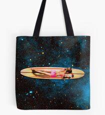 Pleiadian Surfer Tote Bag