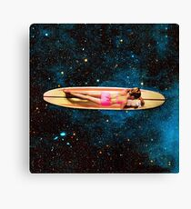 Pleiadian Surfer Canvas Print