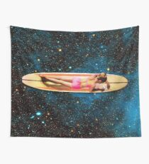 Pleiadian Surfer Wall Tapestry