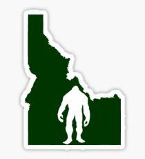 Idaho Bigfoot Sticker