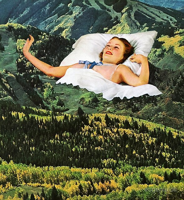 Rising Mountain by eugenialoli