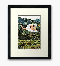 Rising Mountain Framed Print