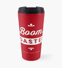 Dunder Mifflin The Office Michael Scott Quote - Boom. Roasted. Travel Mug