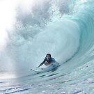 Surf Legend Rochelle Ballard Surfing Hawaiian Wave  by DriveIndustries