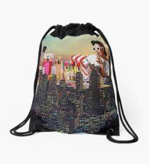 Urban Camouflage Drawstring Bag