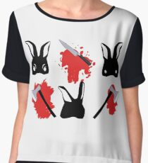 Bloody bunnies Chiffon Top
