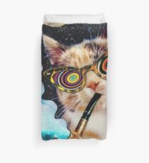 High Cat Duvet Cover
