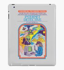 Internet Detective iPad Case/Skin