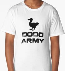 Dodo Army T-shirt Long T-Shirt