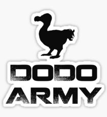 Dodo Army T-shirt Sticker
