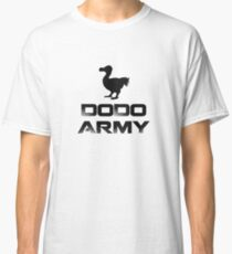 Dodo Army T-shirt Classic T-Shirt