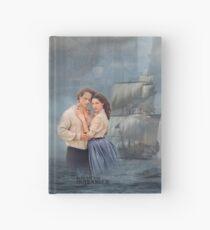 Cuaderno de tapa dura Outlander-Jamie y Claire / Voyager