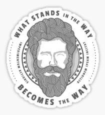 Marcus Aurelius - Stoic Quote Sticker