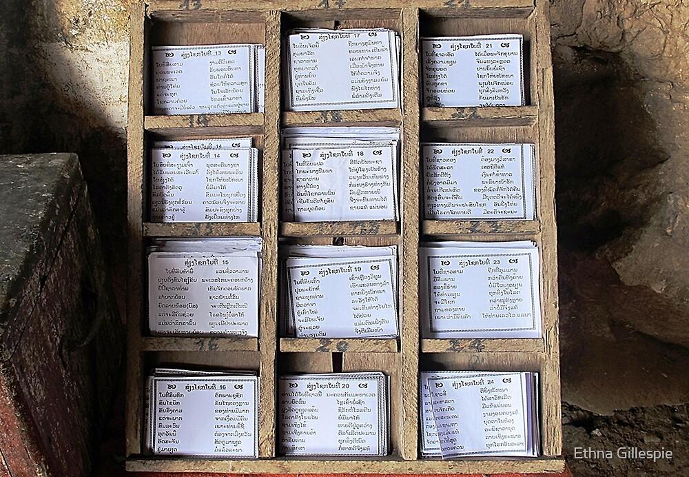 Prayer Cards  by Ethna Gillespie