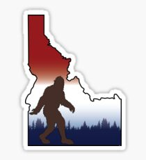 Squatchin'Idaho Sticker