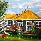 CHRISTMAS HAWAIIAN STYLE by WhiteDove Studio kj gordon